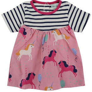 Other - Stripe and Carosel Print Inf. Drs